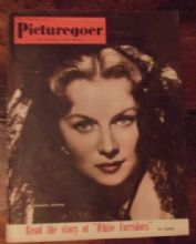Picturegoer July 14th 1951 Issue, Rhonda Fleming, Cludette Colbert, Herbert Lom.